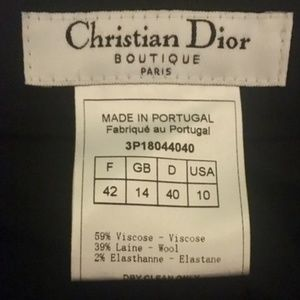 Christian Dior Slacks